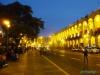 Plaza de Armas w Wigilię Bożego Narodzenia - Arequipa; Peru