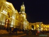 Katedra przy Plaza de Armas w Wigilię Bożego Narodzenia - Arequipa; Peru