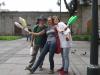 Nauka cyrkowej żonglerki z Magui i Santi z Argentyny - Arequipa; Peru