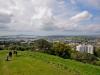 Widok z Mt. Eden - Auckland; Nowa Zelandia