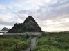 Lion Rock - okolice Auckland; Nowa Zelandia
