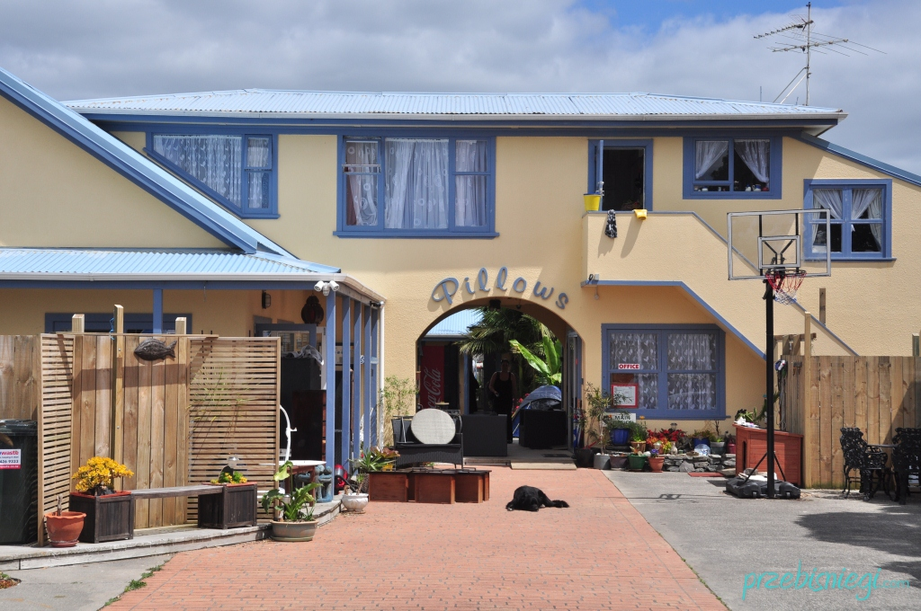 Pillows Backpackers Lodge w Orewa; Nowa Zelandia