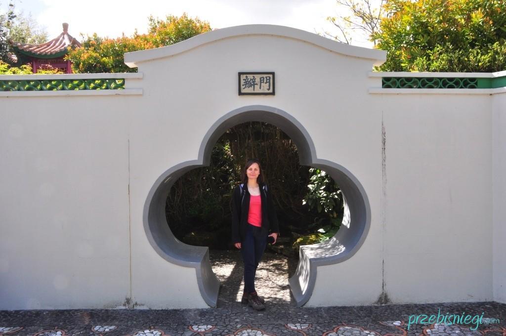 Ogród chiński w Hamilton Gardens - Hamilton; Nowa Zelandia