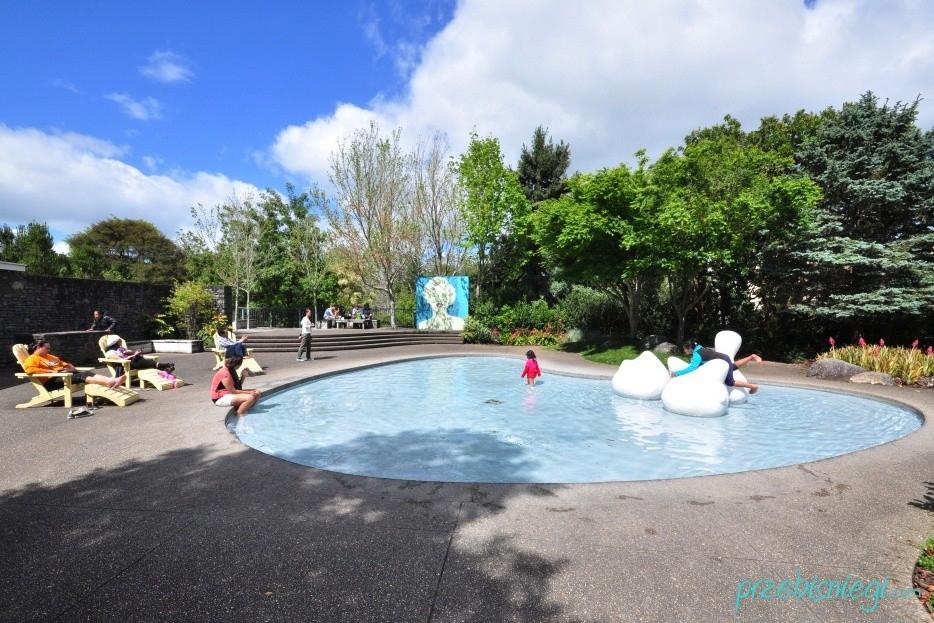 Ogród amerykański w Hamilton Gardens - Hamilton; Nowa Zelandia
