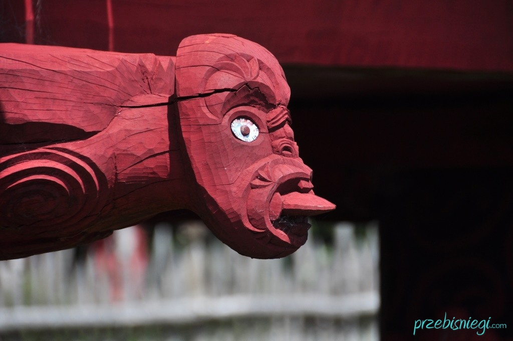 Maoryski ogród Te Parapara w Hamilton Gardens - Hamilton; Nowa Zelandia