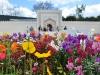 Hinduski ogród Char Bagh w Hamilton Gardens - Hamilton; Nowa Zelandia