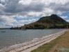 Plaża w Mt. Maunganui; Nowa Zelandia