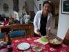 Przygotowania do świąt Bożego Narodzenia (sałatka warzywna) – Omokoroa; Nowa Zelandia