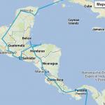 Nasza trasa po Ameryce Środkowej